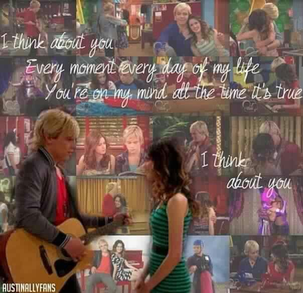 The Feels I Think About You Austin And Ally Funny Disney Memes Tv Show Couples