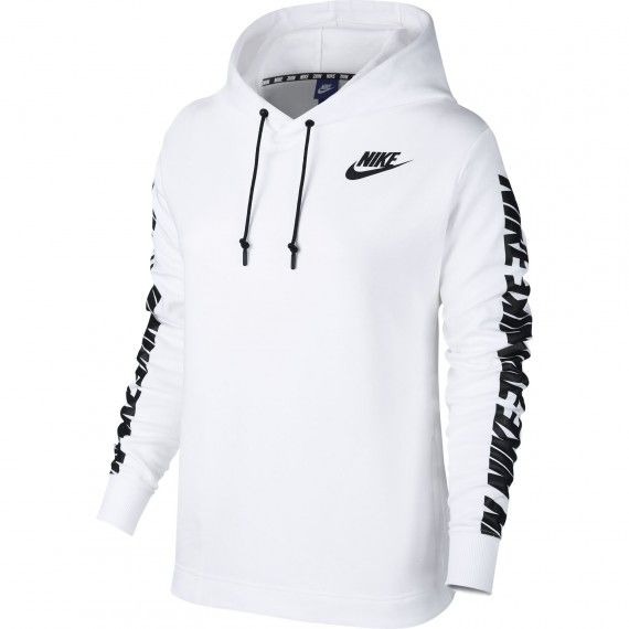 Nike Advance 15 Hoodie - WHITE