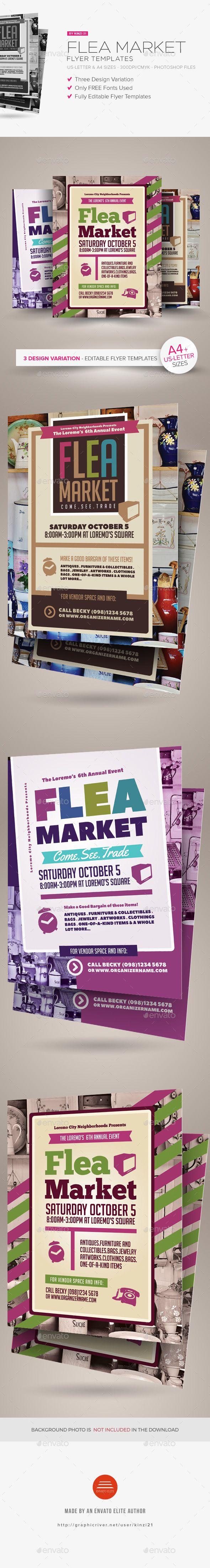 Flea Market Flyer Flyer Size Flyer Flyer Template