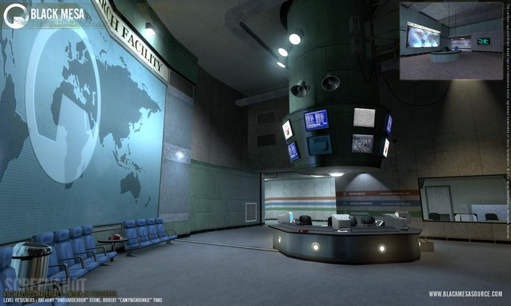 Anomalous Materials Laboratory as seen in Black Mesa: Source