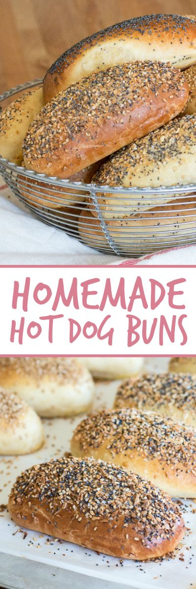 Soft and tender, these homemade hot dog buns are perfect for summer grilling. Since hot dogs and sausages practically make themselves, putting some extra effort into flavorful homemade buns with a perfect combination of toppings is totally worth the effort.