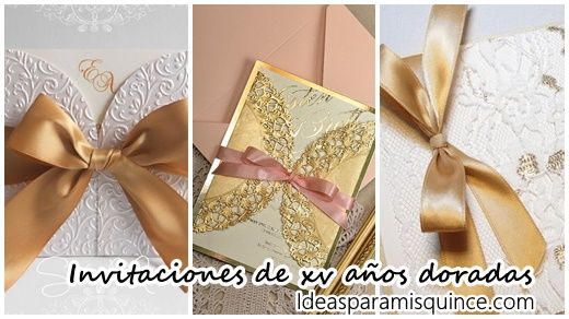 25 diseños de Invitaciones para xv años color dorado Pasteles para xv años en color coral 47 Ideas para unos xv años vaqueros 47 Ideas para unos xv años vaqueros