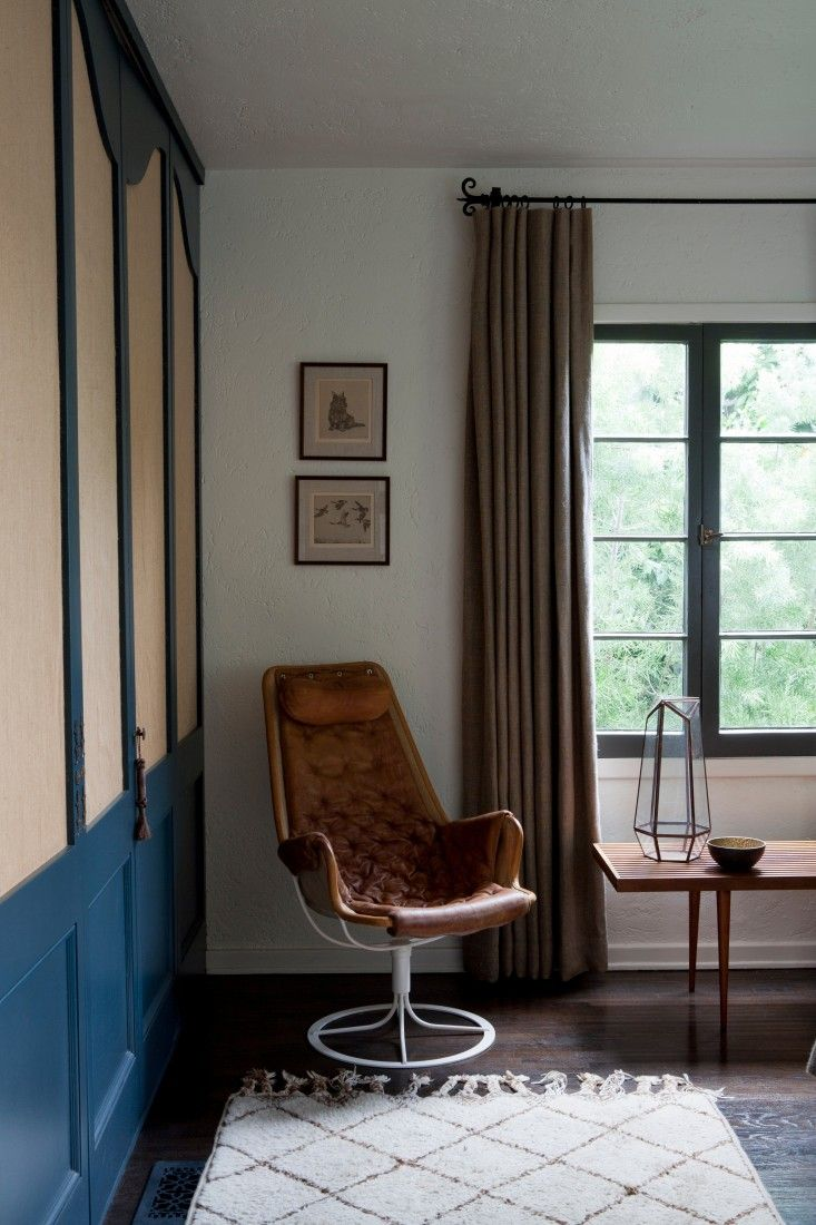 Bruno Mathsson Jetson Chair in Glenn Lawson Spanish Colonial by DISC Interiors | Remodelista