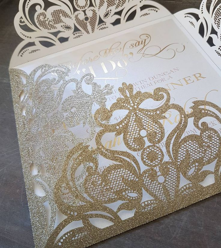 Glitter Laser Cut Diamond Range