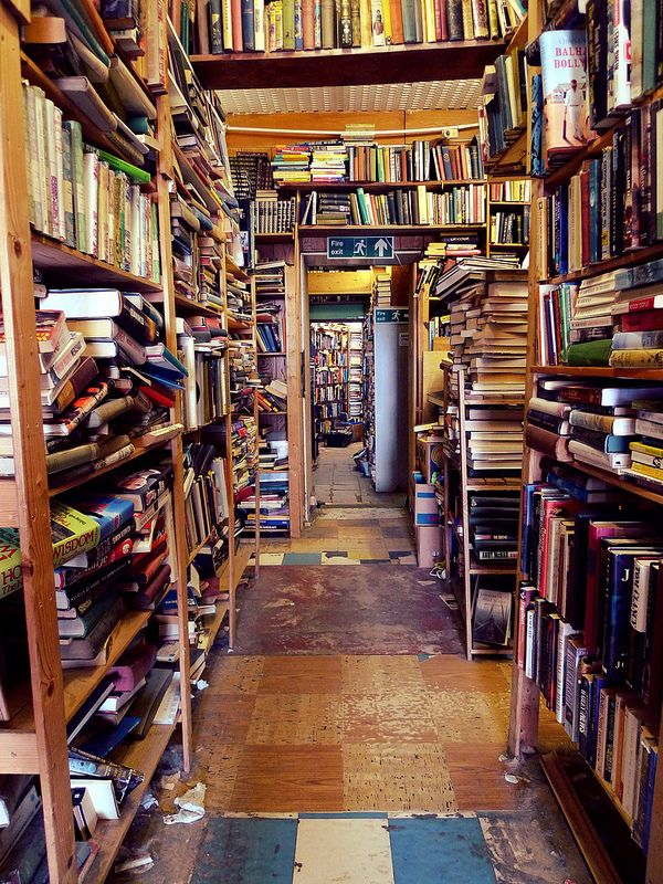 The Old Pier Bookshop, Morecambe, England | Flickr - Photo Sharing!