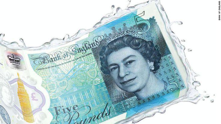 The U.K.'s new plastic money has a surprise ingredient: Animal fat
