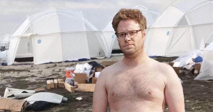 Fyre Fest Is a Lot Like Seth Rogen & Lonely Island's New Movie -- Seth Rogen and The Lonely Island are teaming up for music festival comedy that sounds a lot like what just happened at Fyre Fest. -- http://movieweb.com/fyre-festival-movie-seth-rogen-lonely-island/