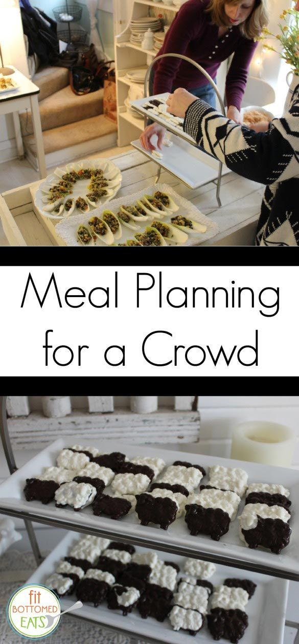meal planning for a crowd