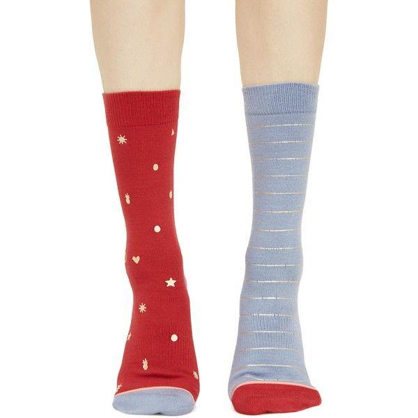 Stance Proud Mismatched Socks ($9.60) ❤ liked on Polyvore featuring intimates, hosiery, socks, gold socks, stance socks, striped socks, stripe socks and print socks