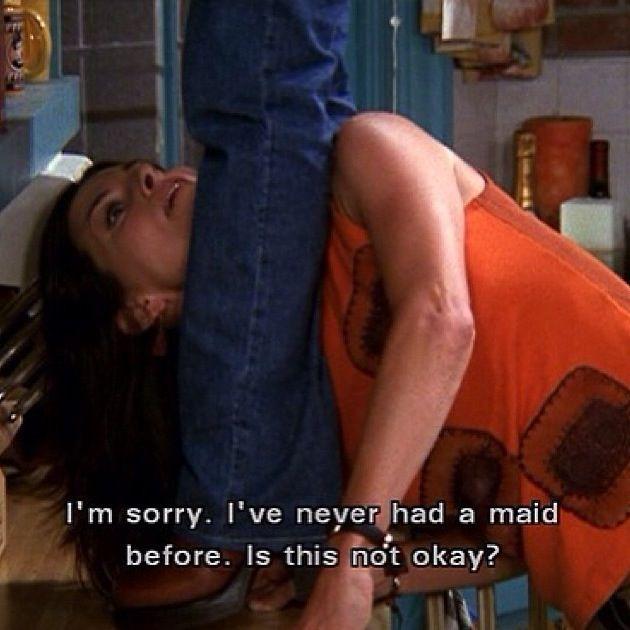 Monica Geller  Friends tv show  Funny quotes