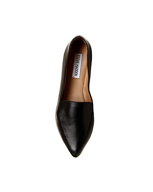 a94b3ed2067 Women s Leather Loafers with Pointed Toe