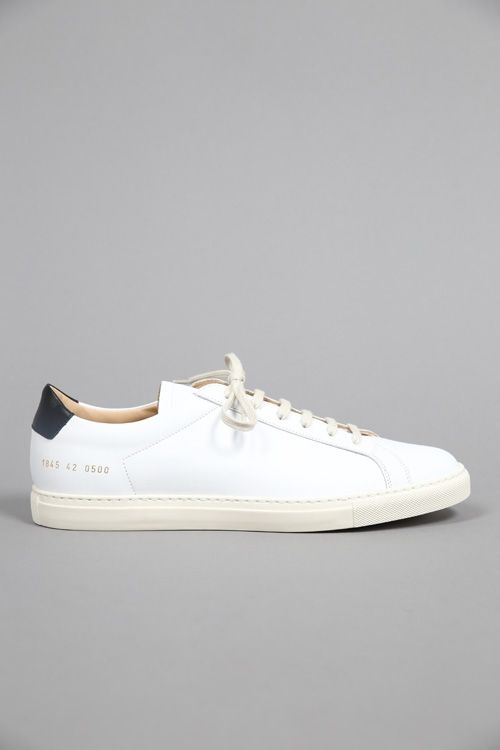 ACHILLES RETRO LOW 1845 WHITE #CommonProjects #FW15 #Graduate #Graduatestore #chaussures #shoes #sneaker 345€