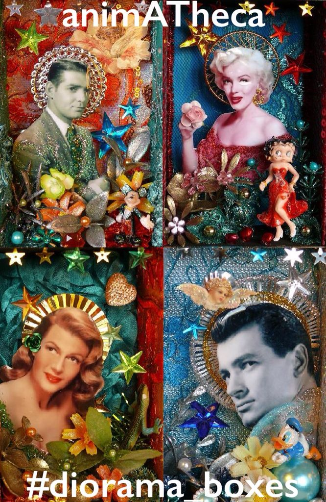Clark, Marilyn, Rita and Rock