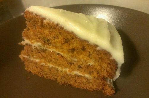 Carrot Cake con Frosting de Queso