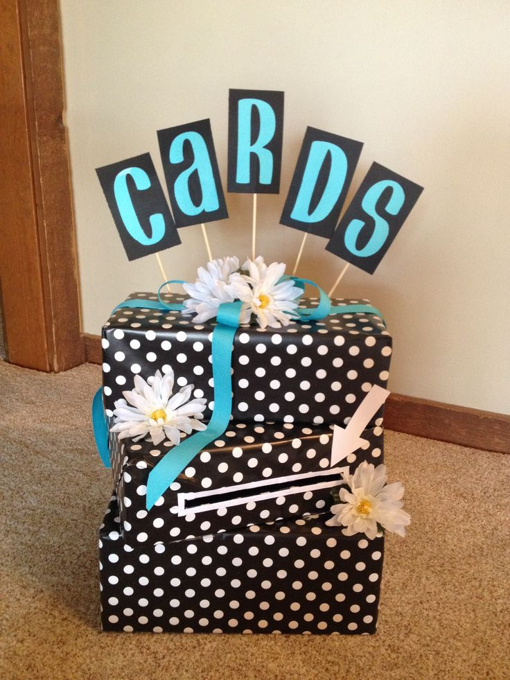 I made this for my daughters graduation open house and she absolutely loves it. Super simple and inexpensive!