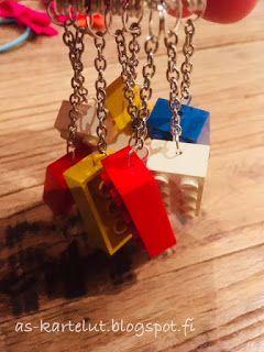AS-kartelut: Lego-avaimenperät #kids #keyring