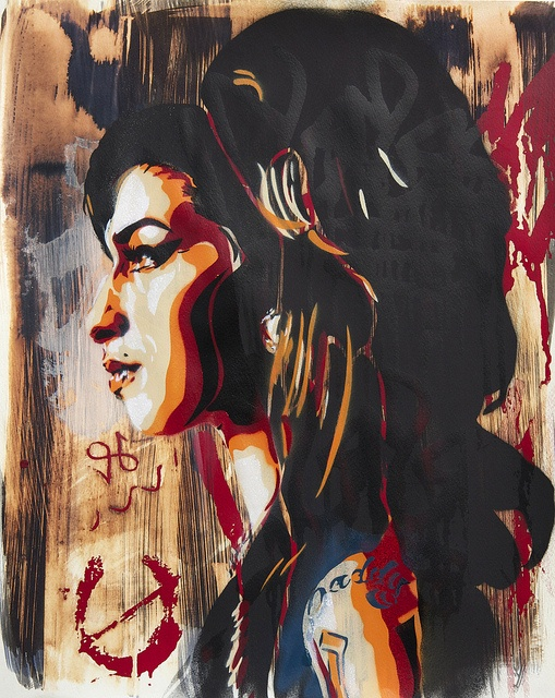 Amy Winehouse IV by BTOYandrea, via Flickr