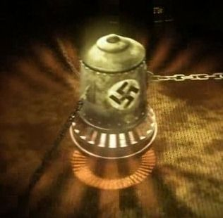 One of the mystery's of World War II is that of the Nazi Bell. Not only the Bell, but the man who was in charge of the project Hans Kammler both disappeared from the face of the earth at the end of the war. The Bell device consisted of two counter rotating cylindrical containers. The containers were positioned one above the other. They were filled with both cryogenically cooled and frozen Mercury metal. http://www.esotericonline.net/profiles/blogs/the-thing-that-was-hitler