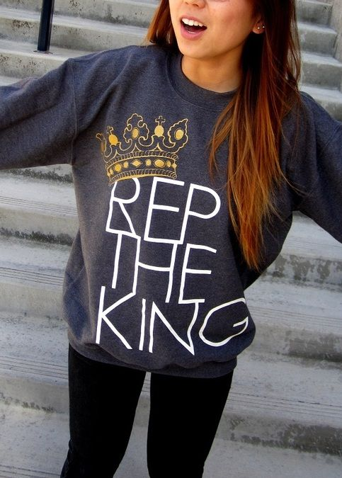 a christian sweatshirt I dont think is too in your face!