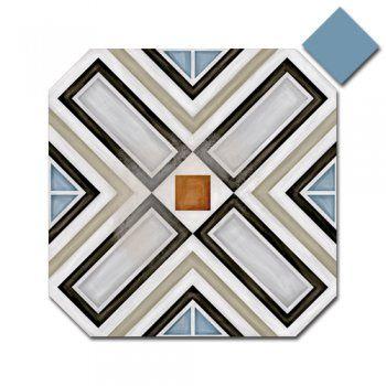Octagon Ritter Multicolor 20cm x 20cm & Taco Dome Nube 4cm x 4cm