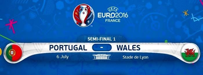 Portugal vs Wales Euro Cup 2016 Watch Live Streaming Online Is Here Now. Watch UEFA 2016 Euro Cup Semi-Final Match Portugal vs Wales Live Stream July 6th