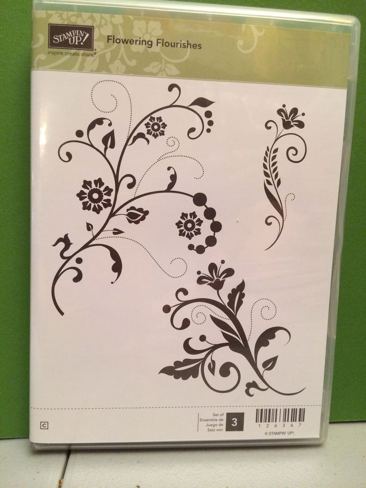 145 best images about cards   stamps   flowering flourishes on pinterest