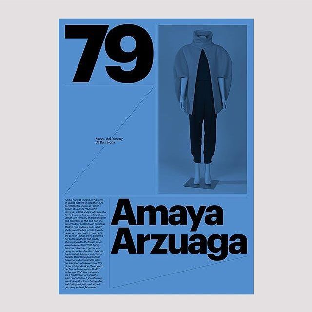 @design_by_atlas's work for the Design Museum in Barcelona is one of my all-time favorite uses of Graphik.