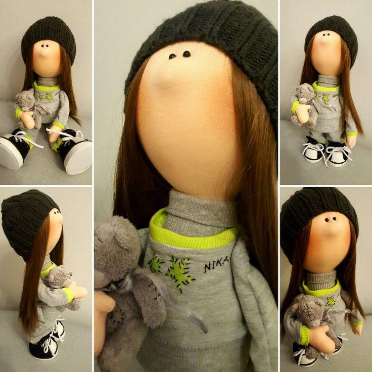 My new handmade doll Nika 🍀