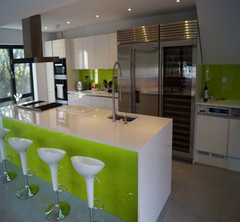 Featured within the Abode@Home Gallery -  An on trend kitchen installation by HKS Interiors in East Sussex featuring the Abode Stalto Professional Mixertap.