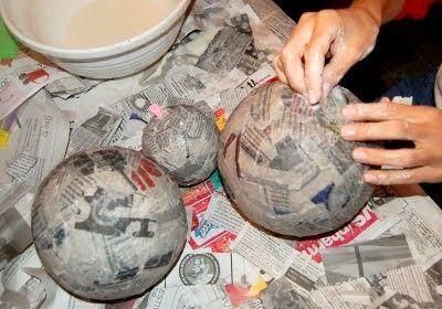 paper mache solar system