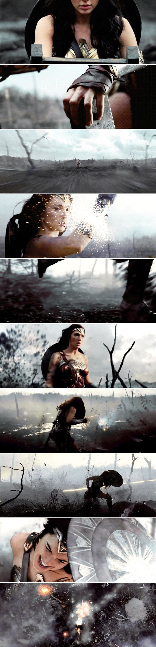 This is No Man's Land. This is not something you can cross. It's not possible.    #wonderwoman
