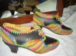 HALF HEEL WOMEN'S SHOES Comfortable women's shoes half heel, leather and woven raffia, Multicolor, Size 37-41 http://www.idealsmarter.com/?refid=0e6b4169