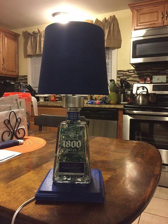 Lámpara de plata tequila 1800