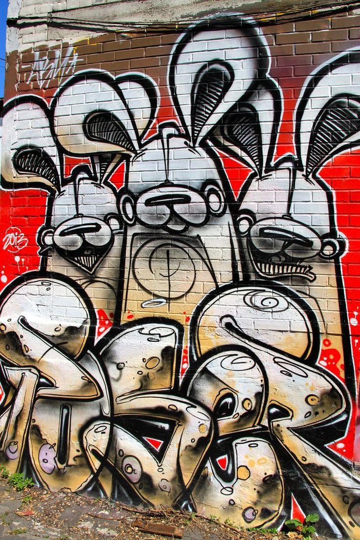 Graffiti art for sale canada - Bunny Street Art Toronto Canada