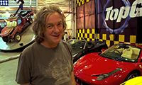 James May drives to the Top Gear studio -  http://www.topgear.com/uk/videos/james-drives-to-studio-p1 Also: James May talks budget supercars