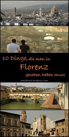 10 Dinge, die man in Florenz gesehen haben muss What to see in Florence, Italy