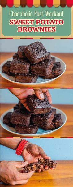 Your post-workout meal is one of the most important meals of the day. Why? Because this meal is all about recovery, refueling and re-feeding so that your muscles grow and your performance improves. So, here's a new, delicious way to incorporate one of my favorite muscle-building carbohydrates, the sweet potato. These brownies have the perfect combo of complex and simple carbohydrates to help give your body what it needs to get to the next level. #fitmencook #fitwomencook #healthy #browni...