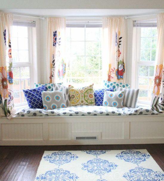 Die besten 25+ Erker dekor Ideen auf Pinterest Erkerfenster - vorhänge für wohnzimmer