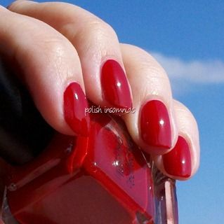 'My Old Flame' - a great red cream