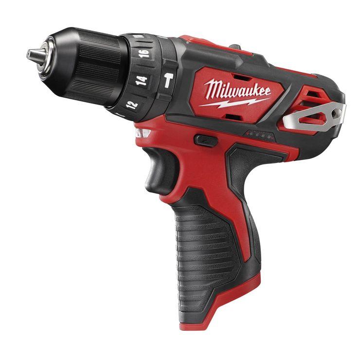 2408-20 Milwaukee M12 3/8 Hammer Drill & Driver Bare