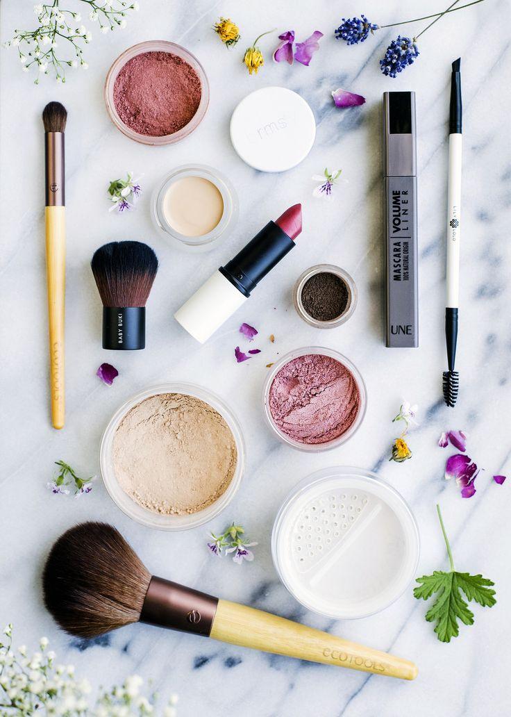 Organic & Natural Make Up / Ekologiskt & Naturligt Smink - Mina 8 favoritprodukter - Evelinas Ekologiska