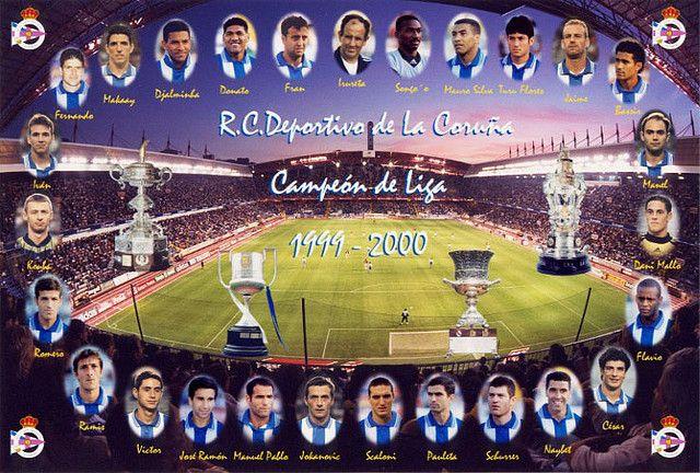 Depor Campeón de Liga 1999/2000