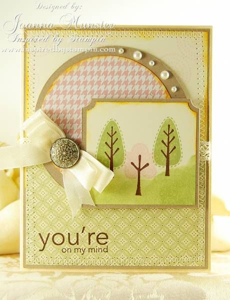 You're On My Mind by JMunster - Cards and Paper Crafts at Splitcoaststampers