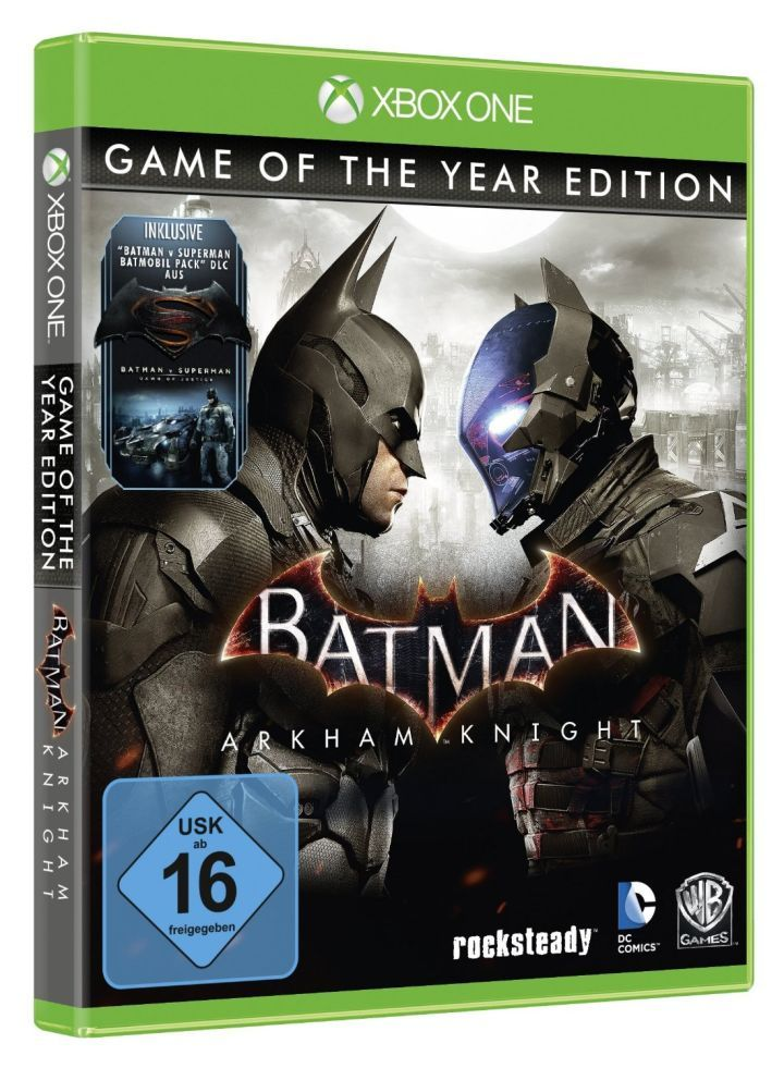 Batman: Arkham Knight GOTY Edition Listed by Retailer  A Game of the Year Edition for Batman: Arkham Knight may soon be on the way as a premature listing by an online retailer has seemingly outed the title.  According to Amazon Germany Batman: Arkham Knight - Game of the Year Edition will launch this July for both PlayStation 4 and Xbox One. The listing does not indicate a release for PC.   Batman: Arkham Knight - Game of the Year Edition box art via Amazon Germany  Continue reading…