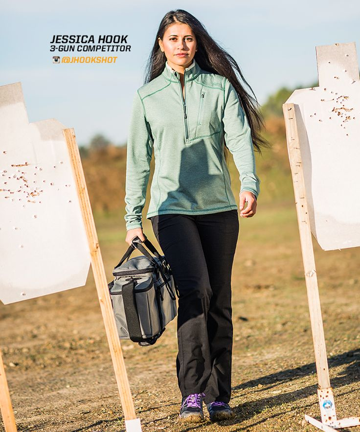 Jessica Hook is a 3-gun competitor and a 5.11 ambassador.