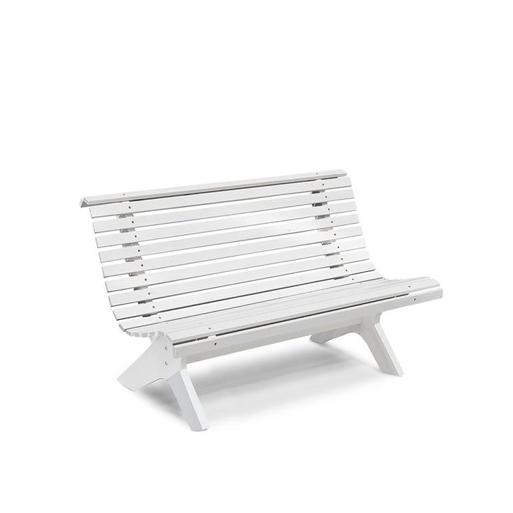 Sitzbank aus Kiefer massiv, L 1390 mm, weiß
