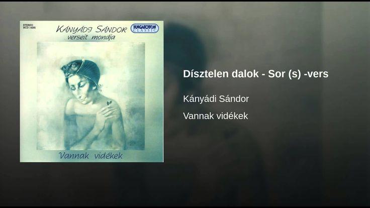 Dísztelen dalok - Sor (s) -vers