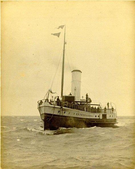 Photo:Brighton Queen Paddle Steamer, 1906
