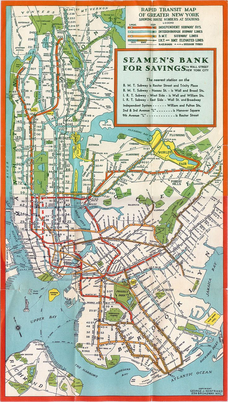 Best Images About Ellie Stones S New York On Pinterest - Nyc unfolds map