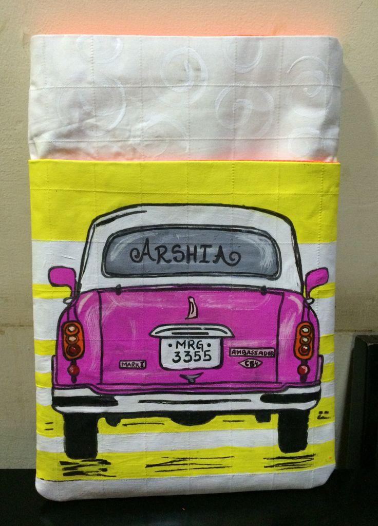 Pink Amby Ipad Air Sleeve